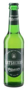 Cerveza ratsherrn pilsener 4.9º 330 c.c.