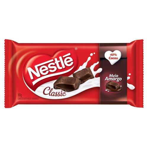Chocolate meio amargo Classic