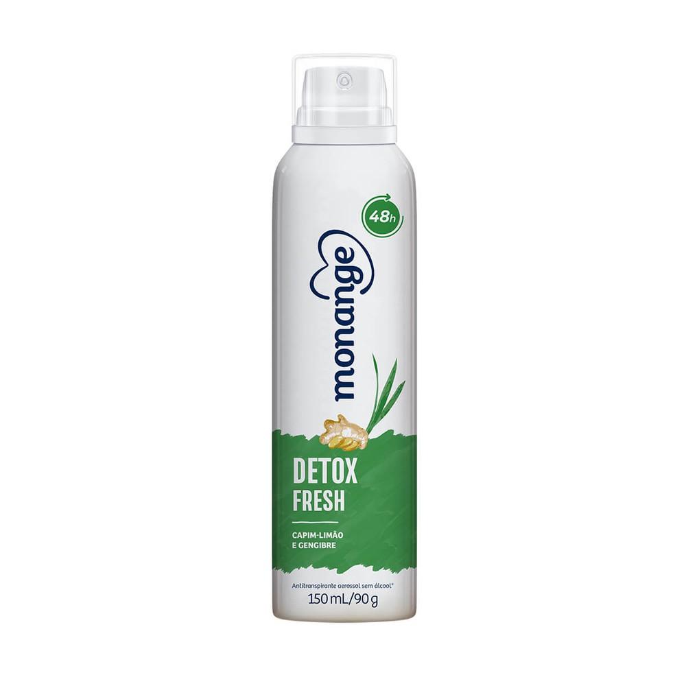 Desodorante aerosol detox fresh