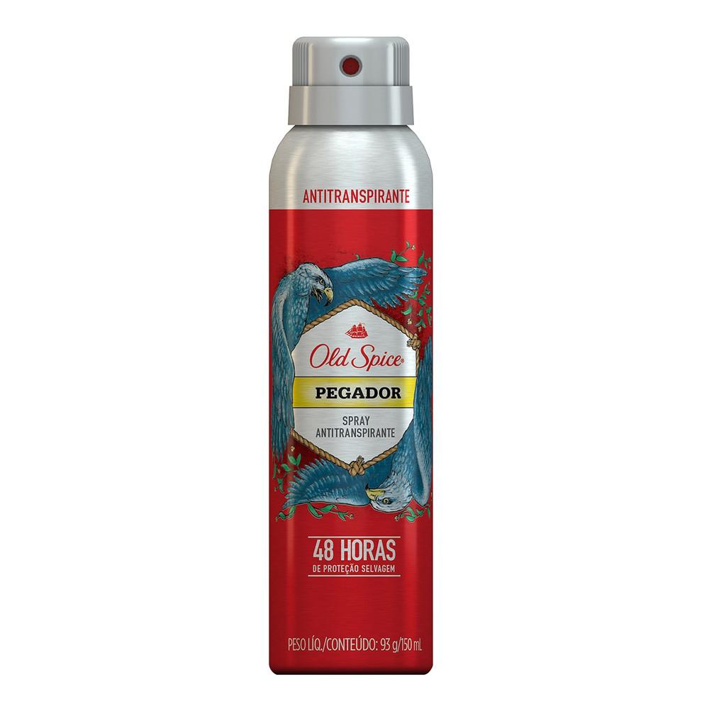 Desodorante spray pegador masculino