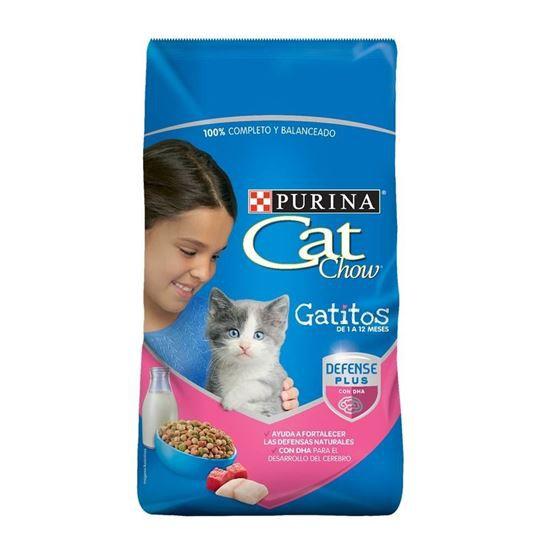 Alimento seco delicias leche carne pescado para gatito