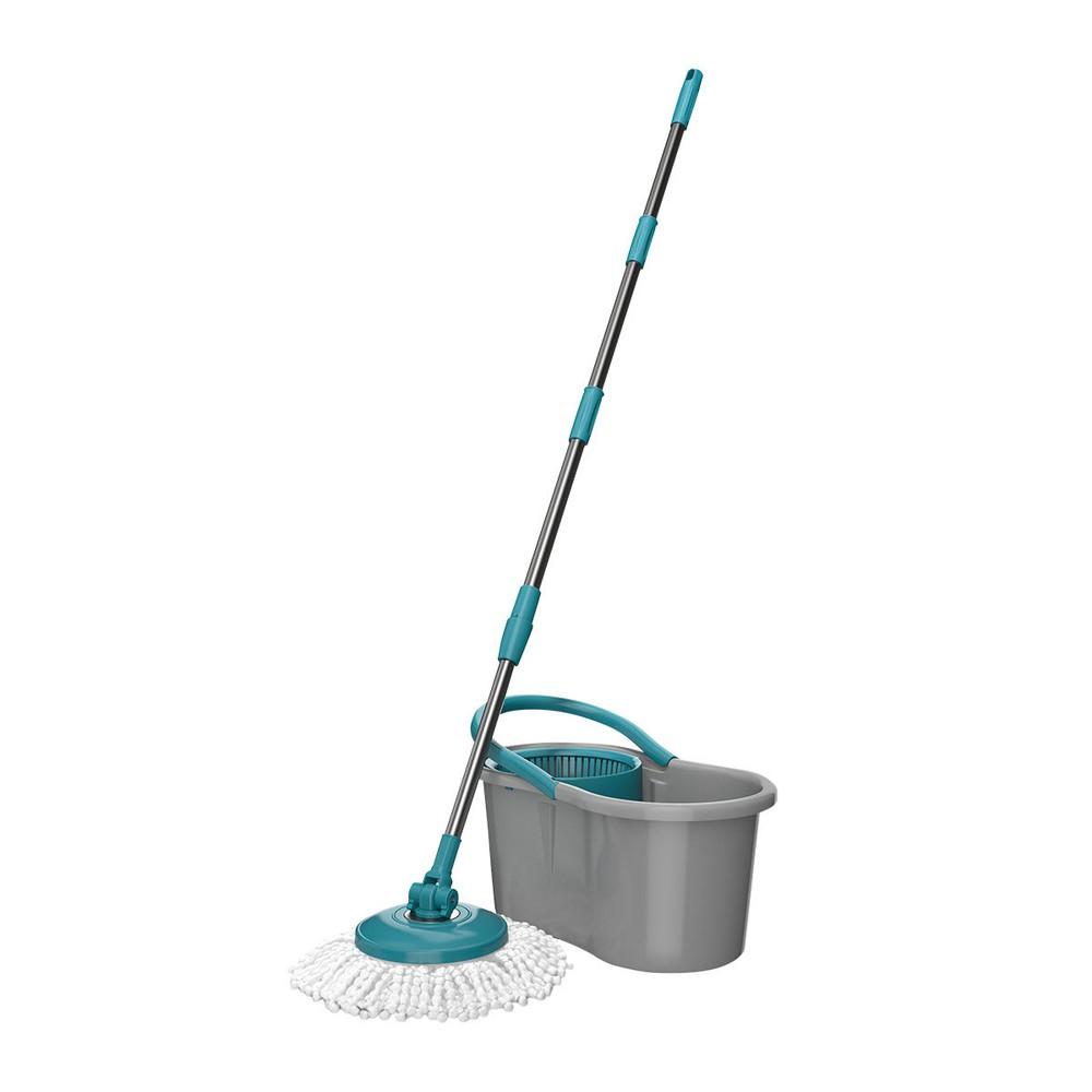Kit esfregão mop com balde