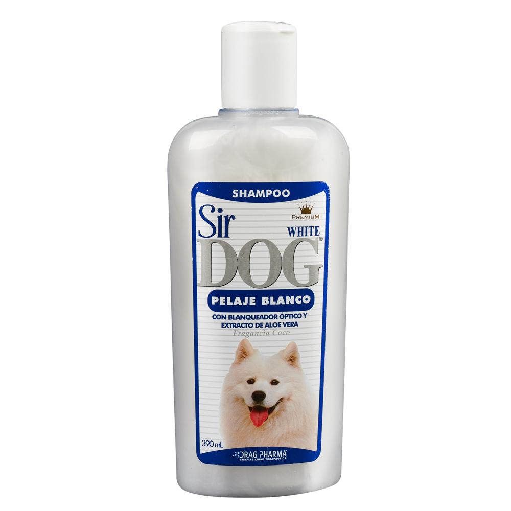 Shampoo para perros pelaje blanco