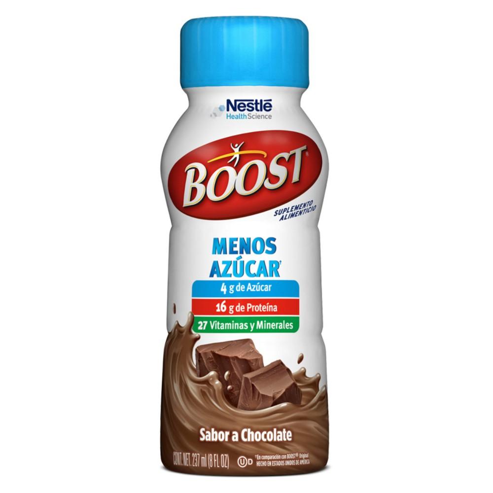 Suplemento menos azúcar chocolate
