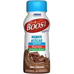 Boost menos azúcar chocolate