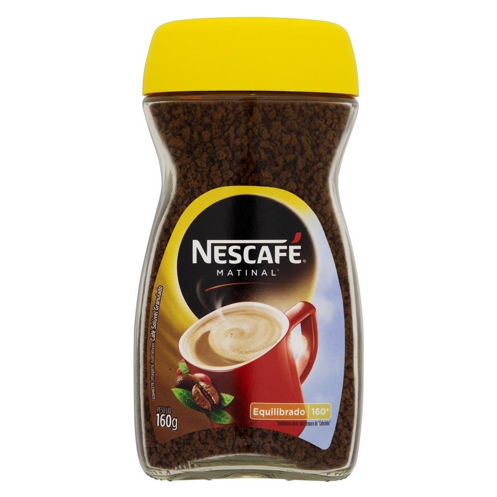Café solúvel matinal