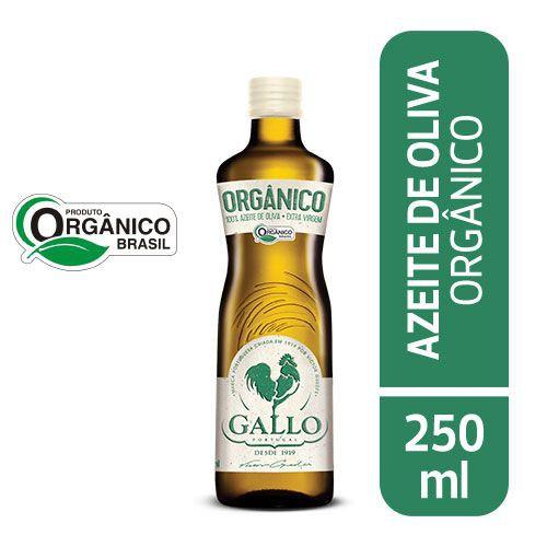 Azeite extra virgem orgânico