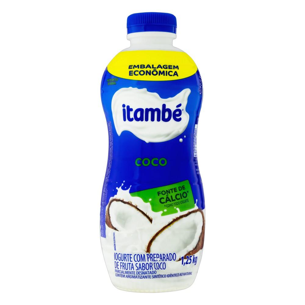 Iogurte líquido coco