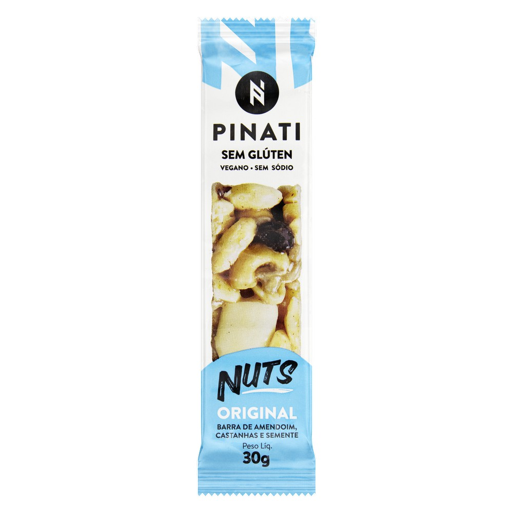 Barra de amendoim pinati nuts original