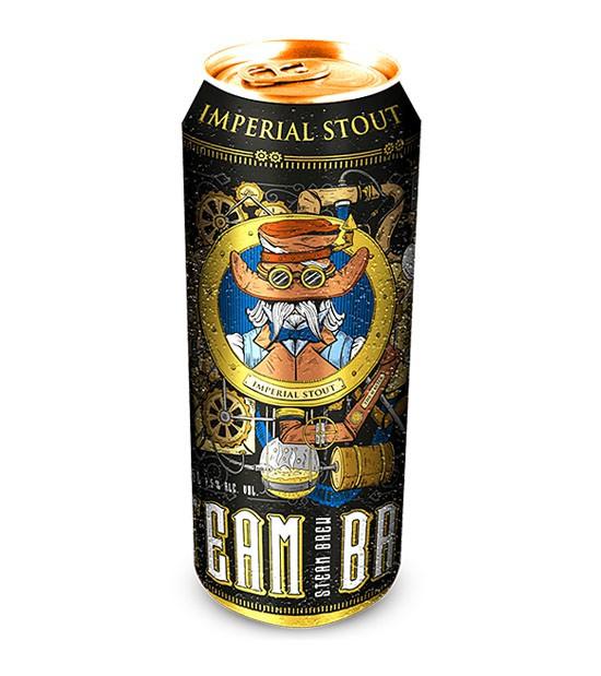 Cerveza imperial stout 500 ml