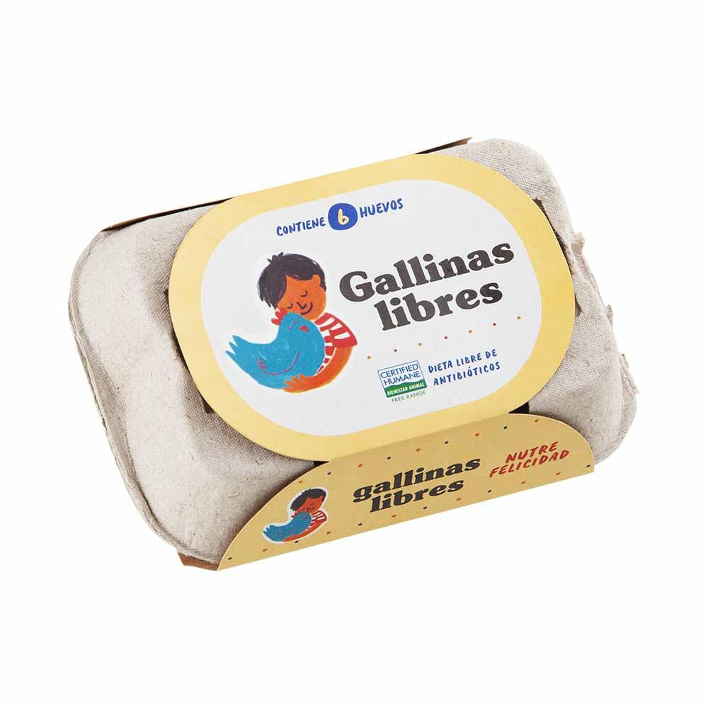 Huevos Gallinas Libres Bandeja