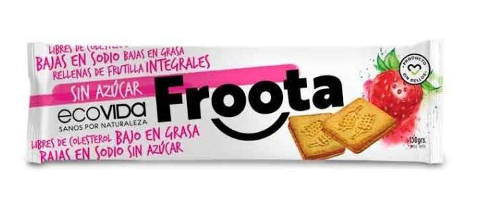 Galleta Froota frutilla