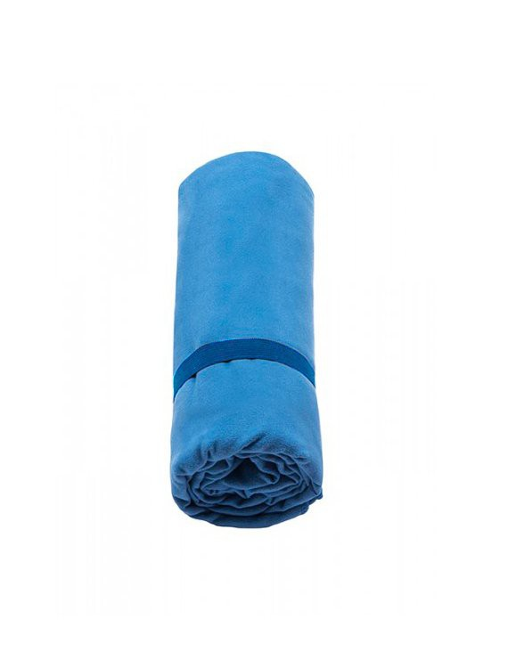 Toalla de microfibra antibacterial grande azul