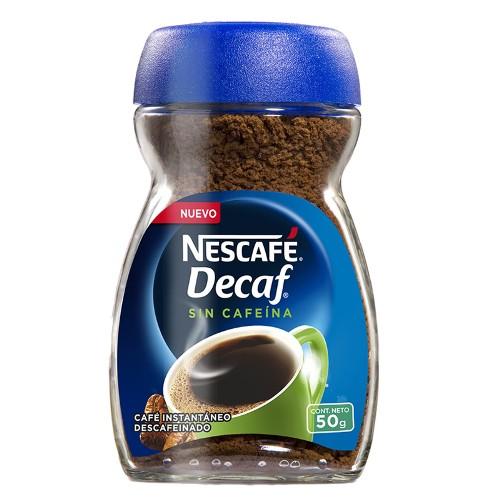 Café instantáneo descafeinado