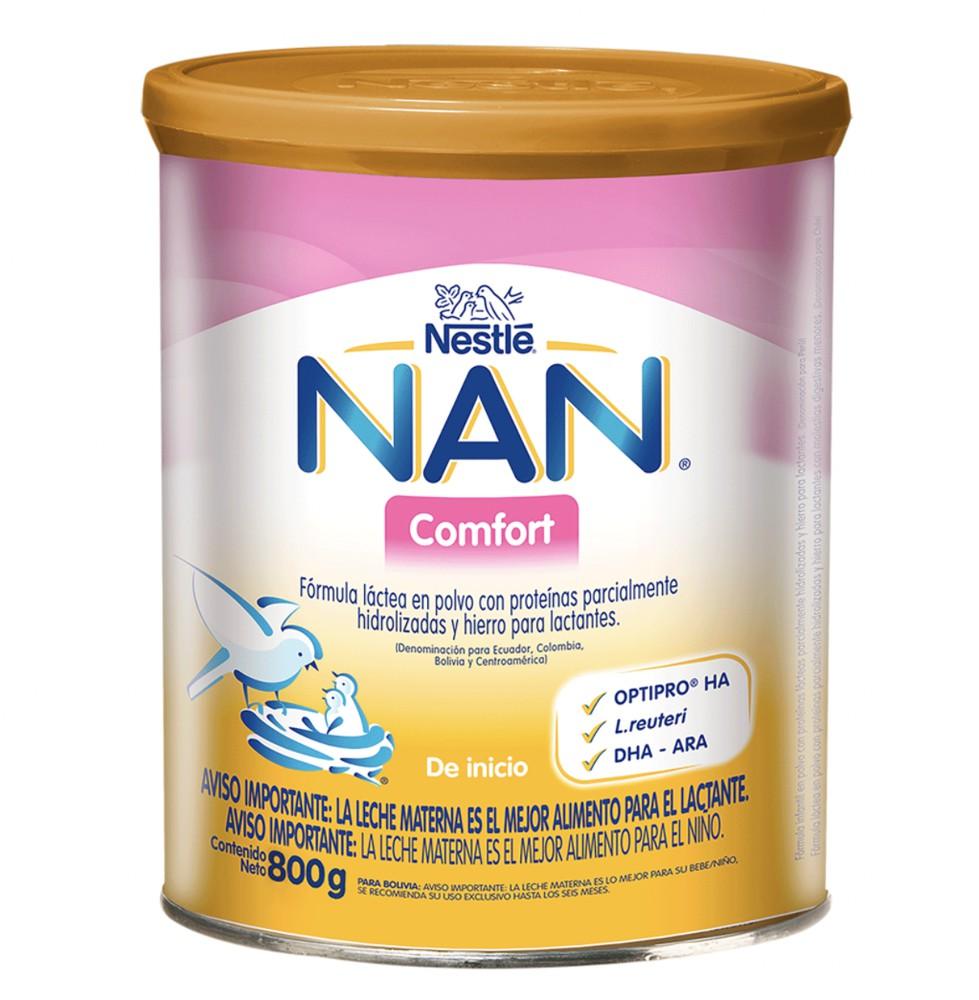 Fórmula láctea de inicio Nan Comfort