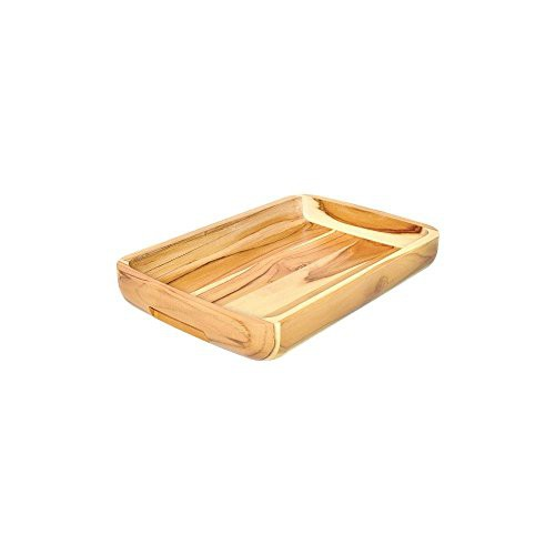 Gamela de madeira para churrasco
