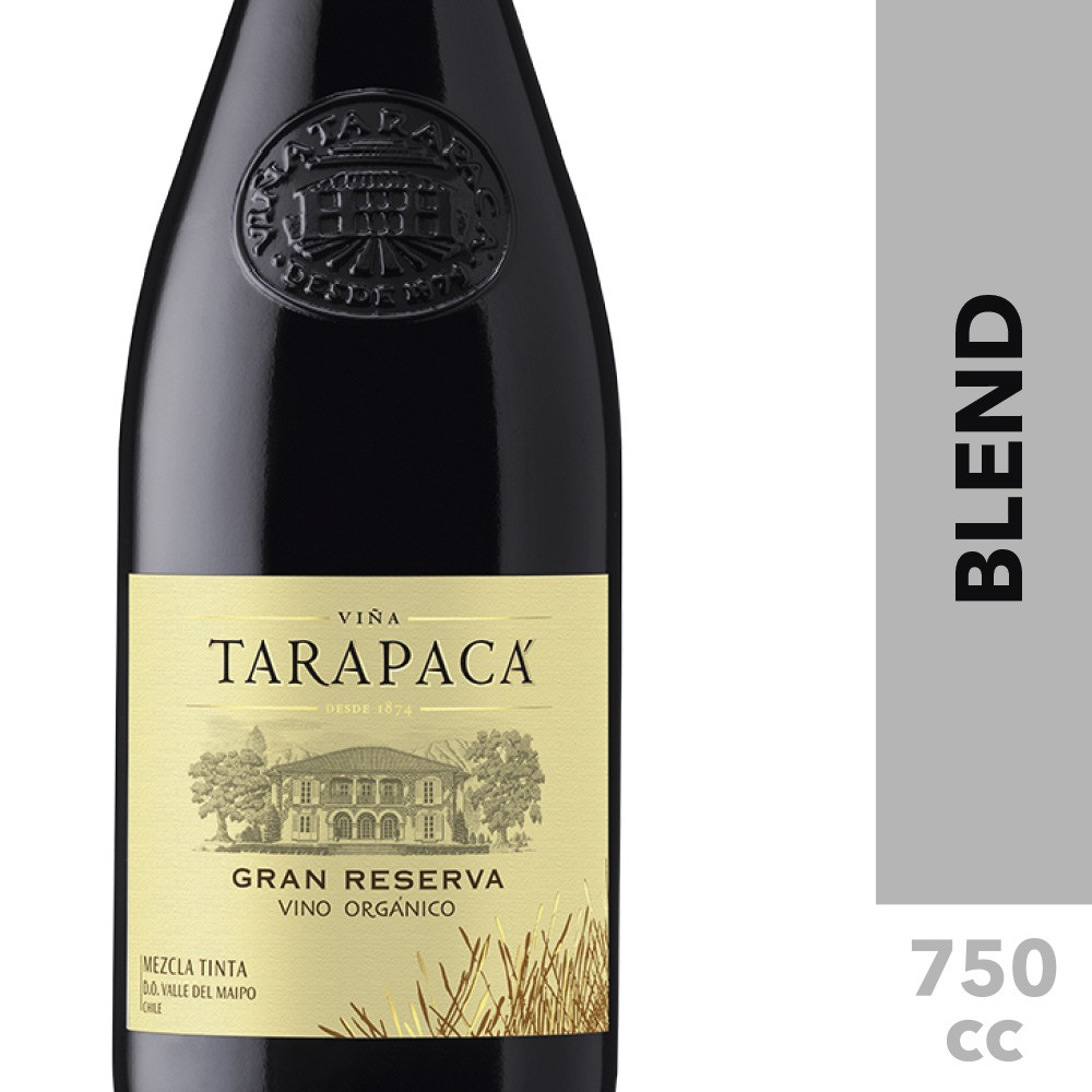Vino orgánico red blend gran reserva
