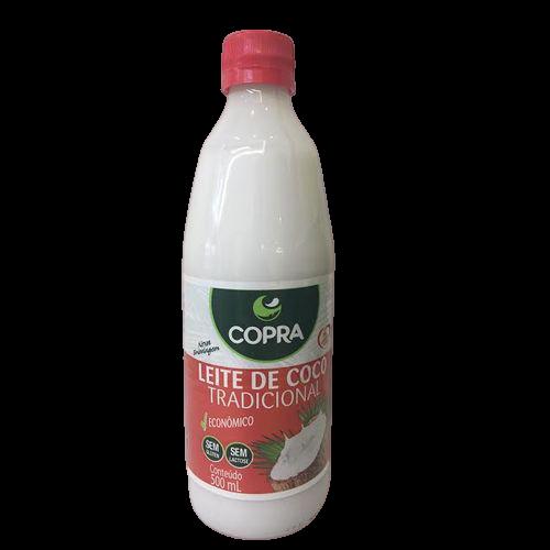 Leite de coco tradicional sem glúten e sem lactose 500ml