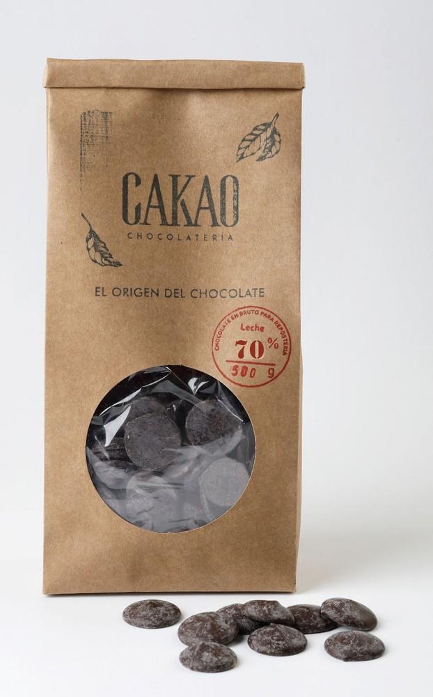 Chocolate repostería 70% - 500 g Bolsa 500 g