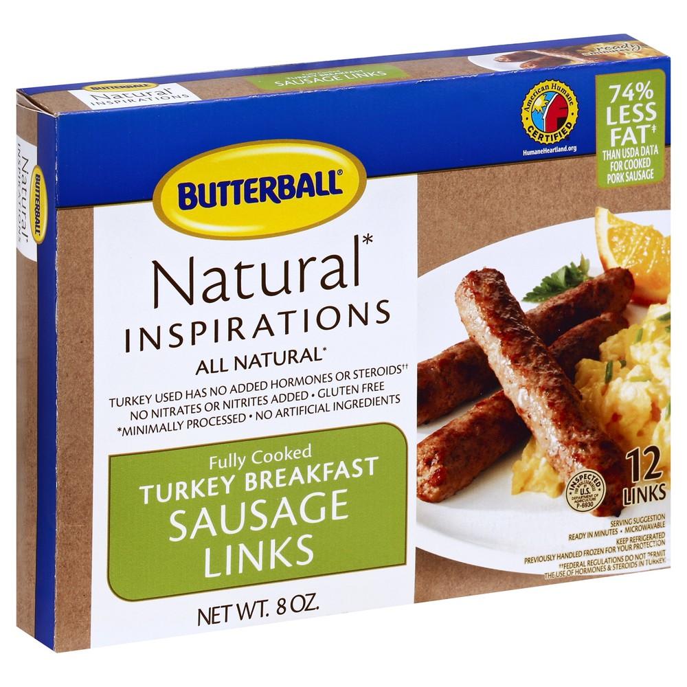 Natural Turkey Sausage Links