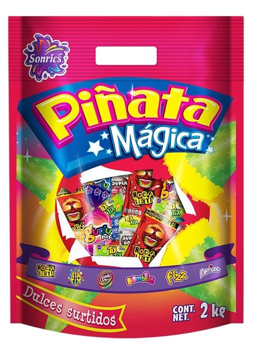 Piñata mágica dulces surtidos