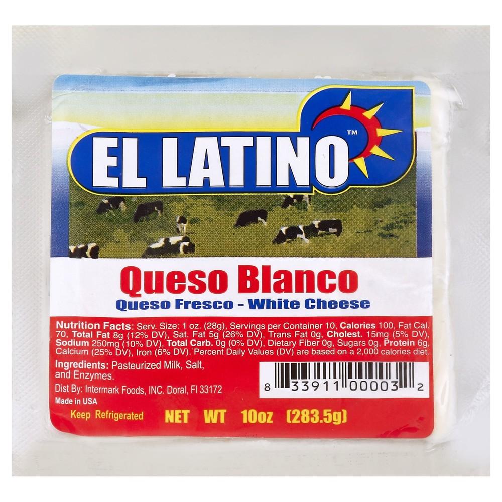 Queso Blanco Fresco White Cheese 10 oz