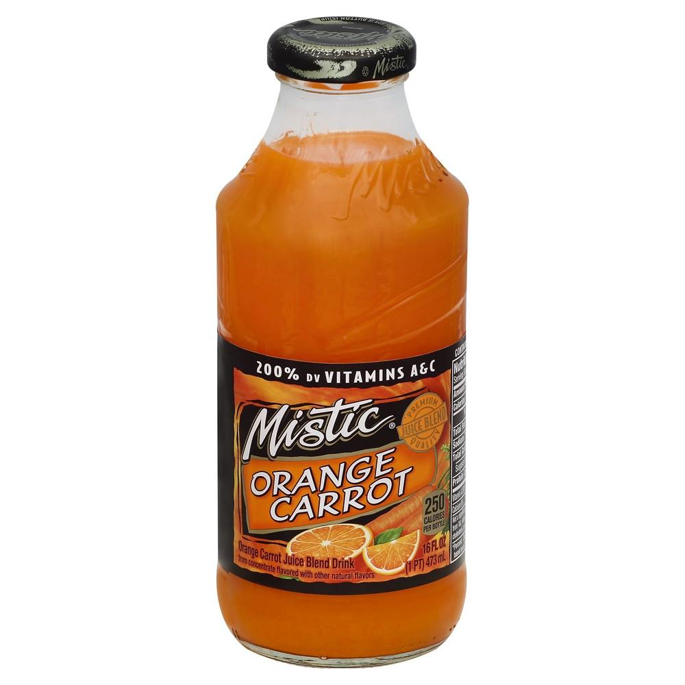 Orange Carrot Juice 16 fl oz