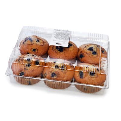 Muffins vainilla y chispas de chocolate