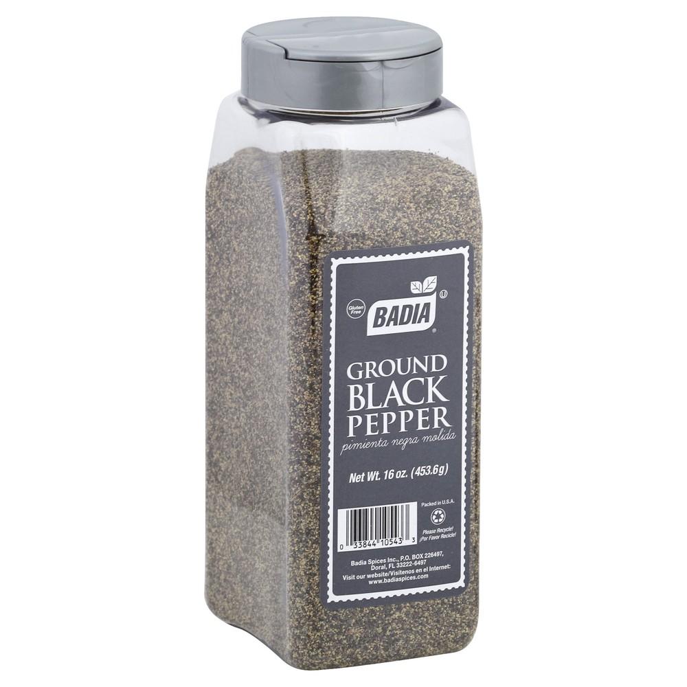 Ground Black Pepper 6 - 16 oz