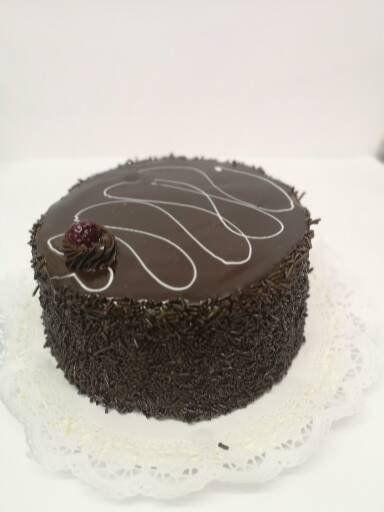 Torta chocolate manjar frambuesa