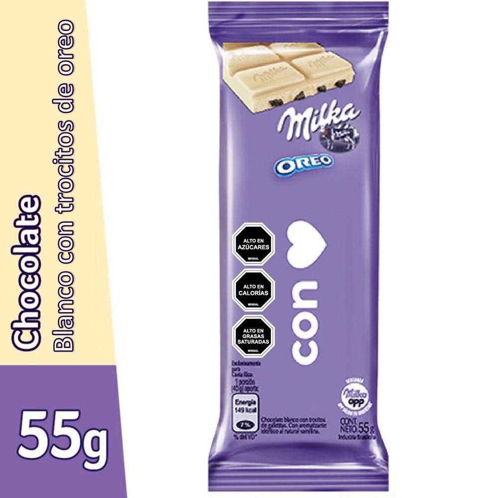 Chocolate blanco y Oreo mensajes