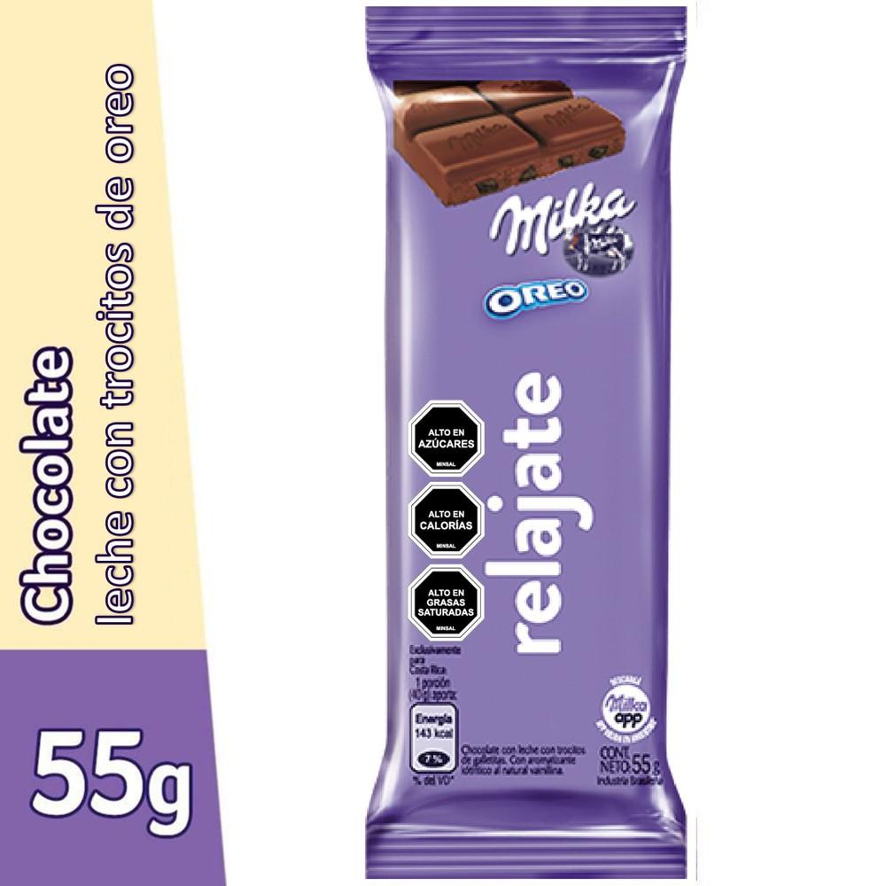 Chocolate Oreo leche mensajes