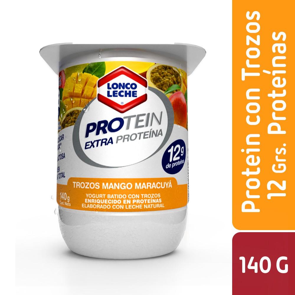 Yoghurt Protein con trocitos de mango maracuyá