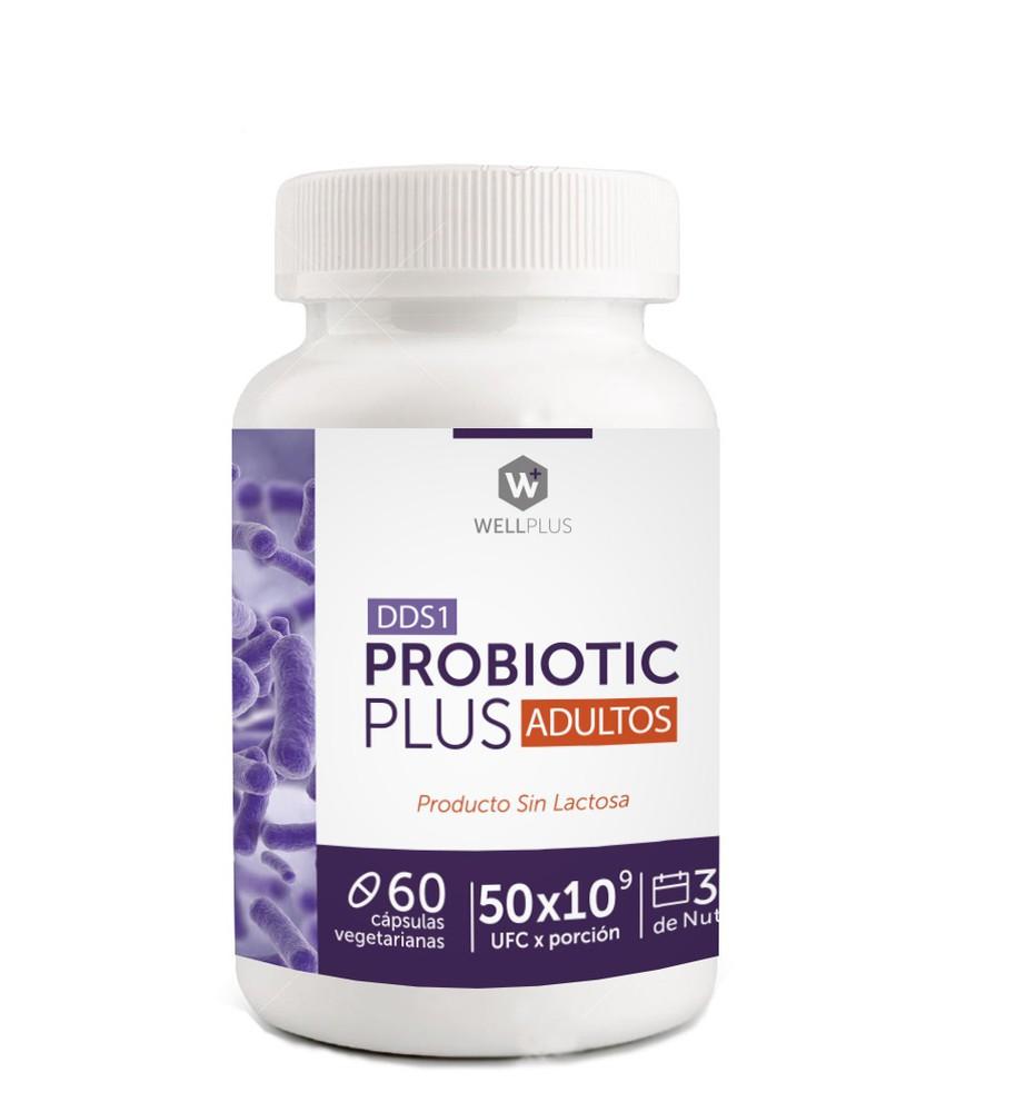 Wellplus probiotico plus  50 billones