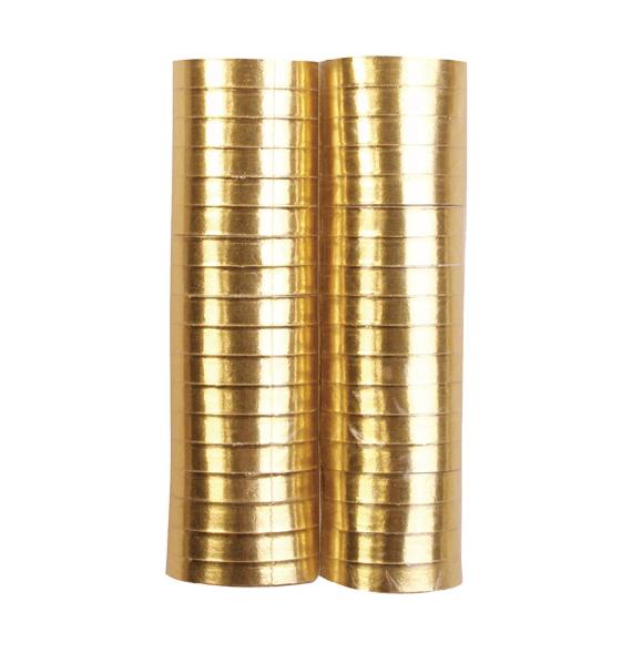 Serpentina metalizada dorada 2 und