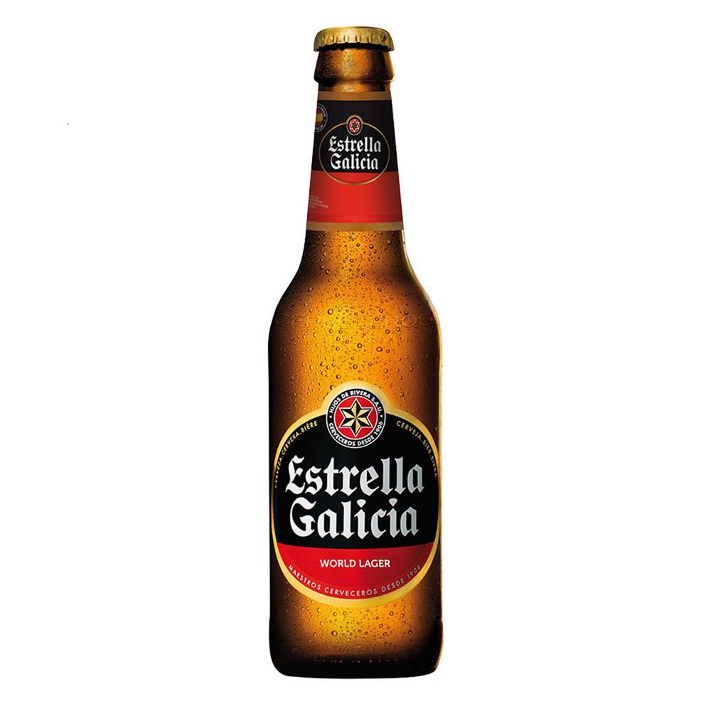 Cerveza premium lager 330 ml
