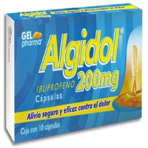 Algidol 10 Capsulas