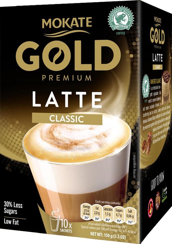 Gold premium latte classic 150 g