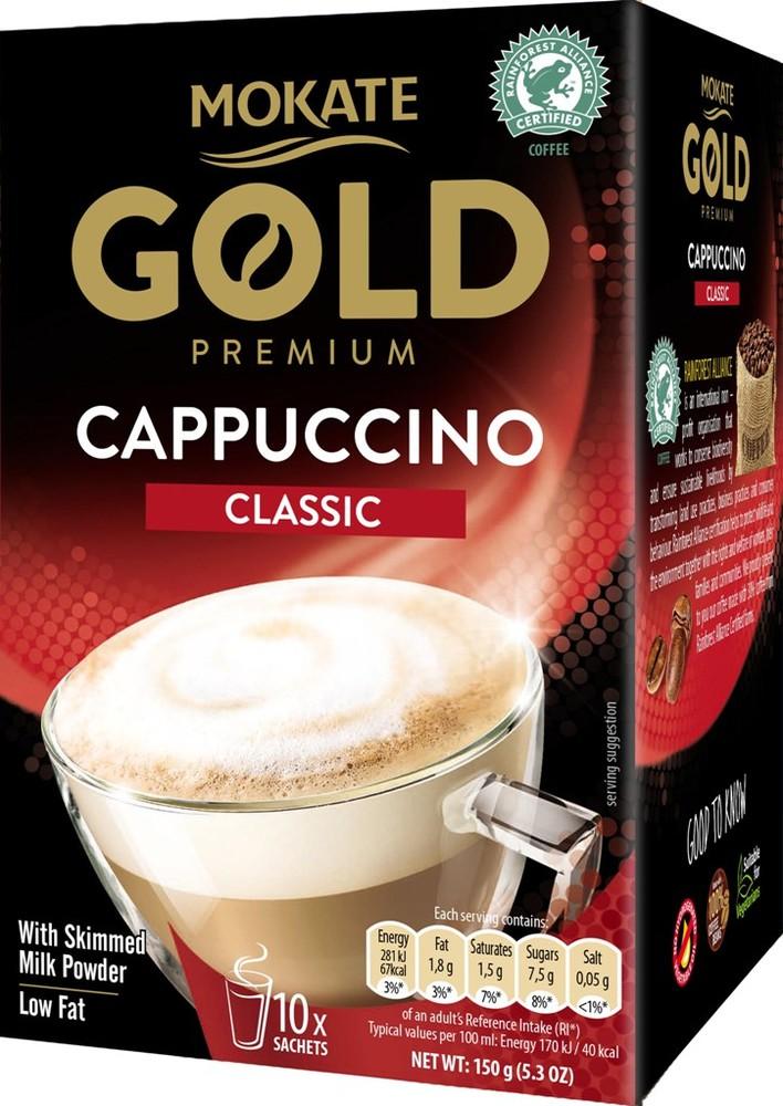 Gold premium cappuccino classic 150g