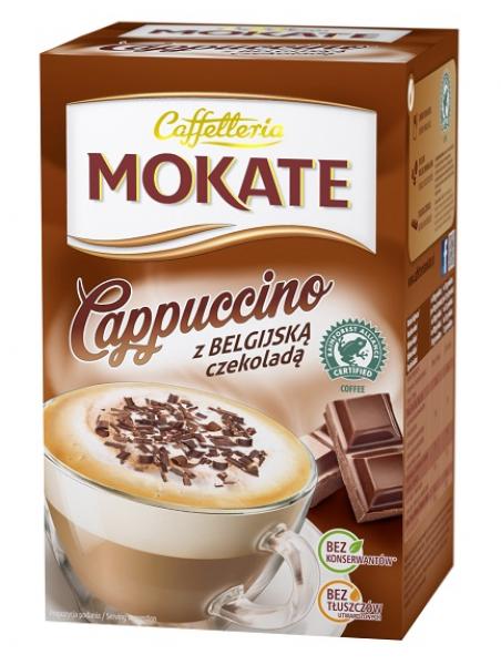 Cappuccino belgian chocolate