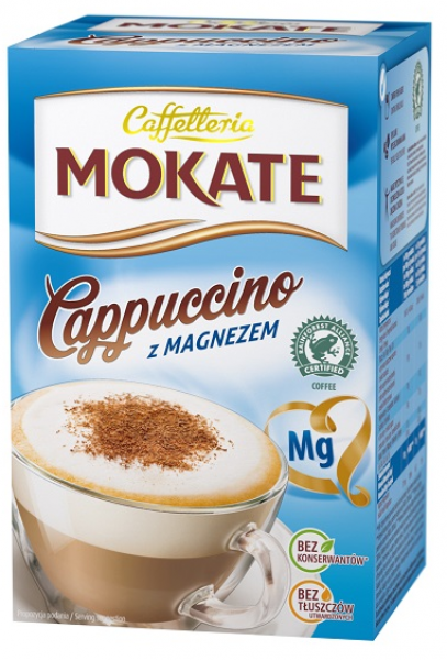 Cappuccino with magnesium