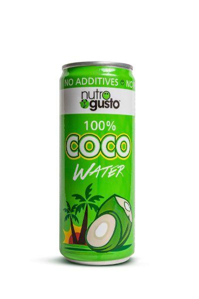 Pure coconut water juice
