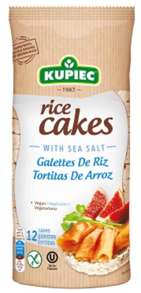 Rice cakes with sea salt