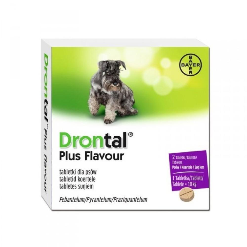 Antiparasitario para perros hasta 10 kg 2 comprimidos