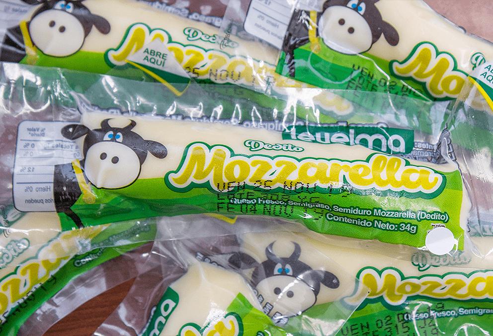Deditos mozzarella Bolsa 6 unidades x 204 g