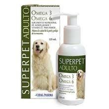Superpet Aceite omega 3-6 Perro Adulto sabor carne