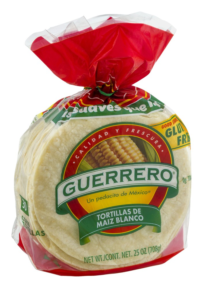 White Corn Tortillas Guerrero 30 Ct Delivery Cornershop