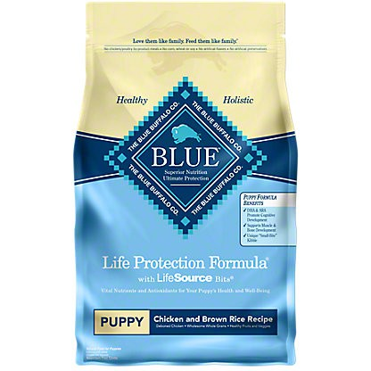 Blue Buffalo Lifetime Protection Formula Chicken & Brown Rice Dry Puppy Food, 6 lb
