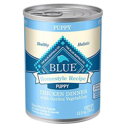 Blue Buffalo Homestyle Recipe Chicken Dinner with Garden Vegetables Wet Puppy Food, 12.5 oz