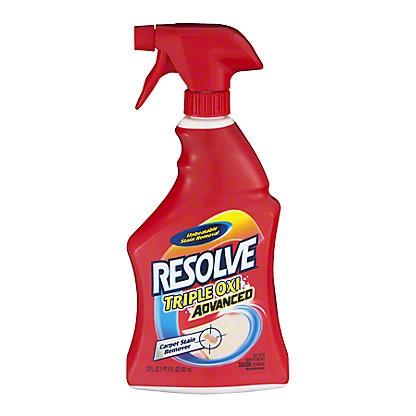 Resolve Carpet Cleaner Stain Remover Spray, 22 oz